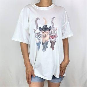 Cowboy Cats TShirt